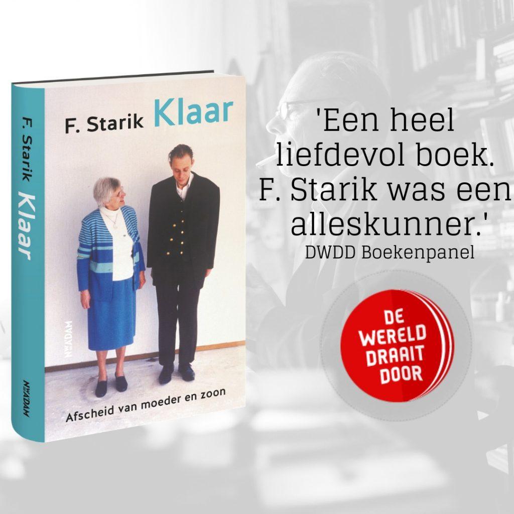 DWDD Boekenpanel: 'Een heel liefdevol boek. F. Starik was een alleskunner'